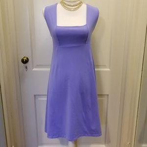Biondo Dress Cross Straps in Periwinkle Blue